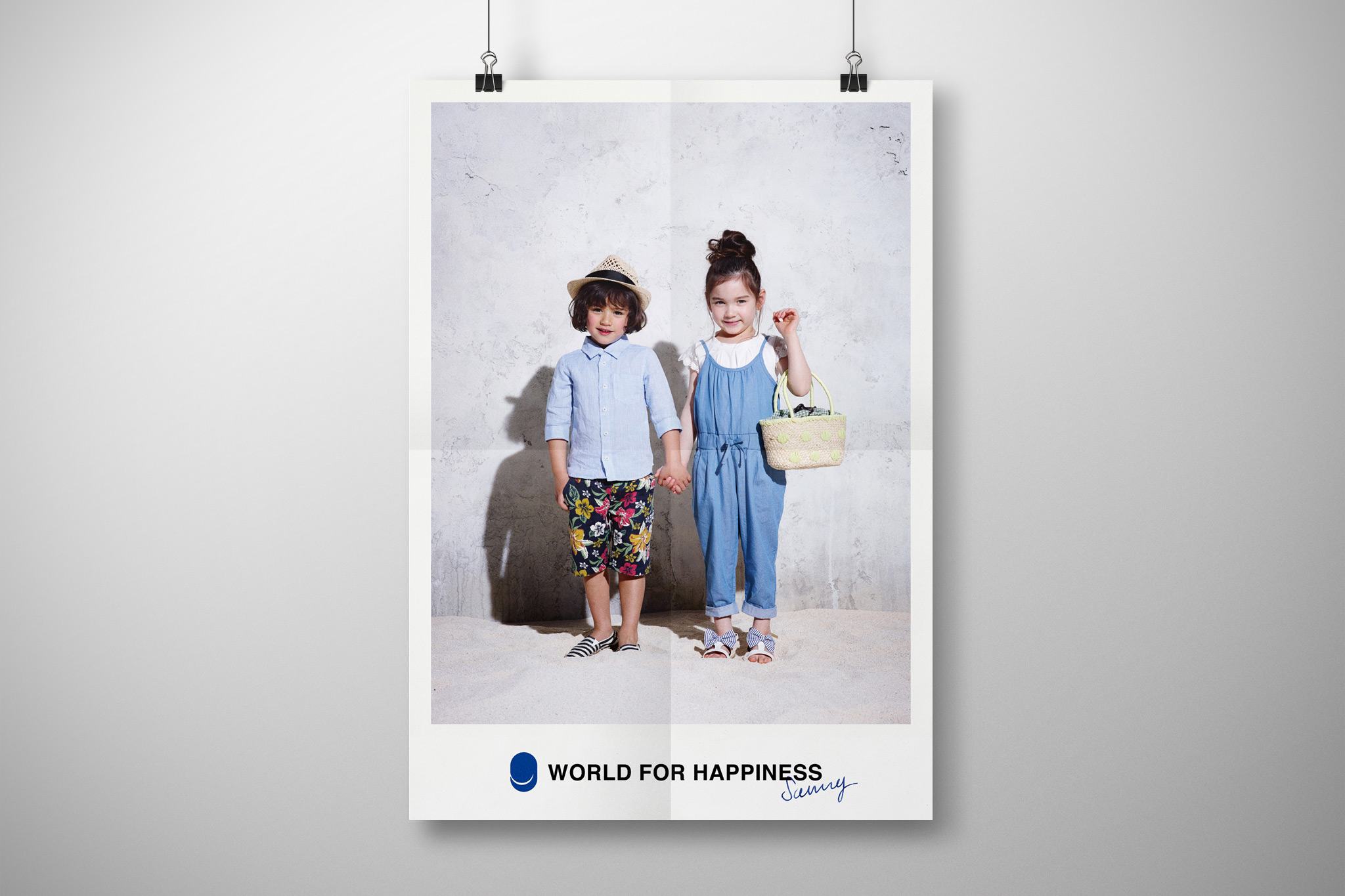 WORLD FOR HAPPINESS POSTER